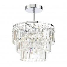 Canterbury Glass Crystal Bar Light