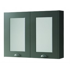 Astley Mirror Cabinet Matt Grey - 800mm