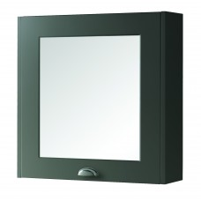 Astley Mirror Cabinet Matt Grey - 600mm