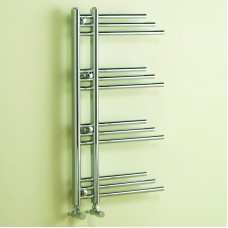 New York Chrome Plated Heated Towel Rail - 1150mm x 900mm