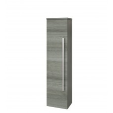 Purity Wall Mounted Side Unit - Grey Ash