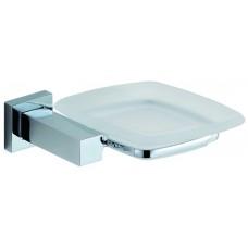 Modern Glass Soap Holder Dish
