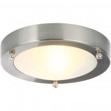 Cane Round Flush Ceiling Light