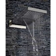 Sabre Designer Shower Head with Water Blade