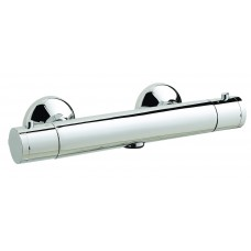 Minimalist Exposed Thermostatic 1-Way Shower Bar Valve