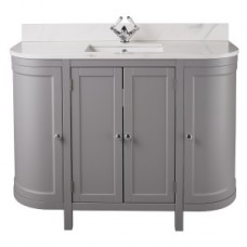 Holborn Curved 1200mm Traditional Floor-Standing Vanity Unit