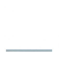 5mm PVC Ceiling & Wall Panel - White Gloss/Silver Edge Trim