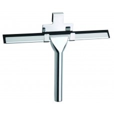Chrome Shower Wiper and Hook