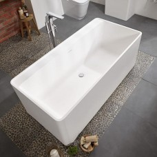 Cabanes Natural Bath 1700 x 800 With FREE Solid Surface Cleaning Kit