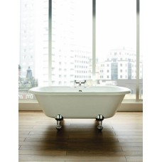 Athena - 1700 x 750 Double Ended Freestanding Bath inc. Ball & Claw Foot Set