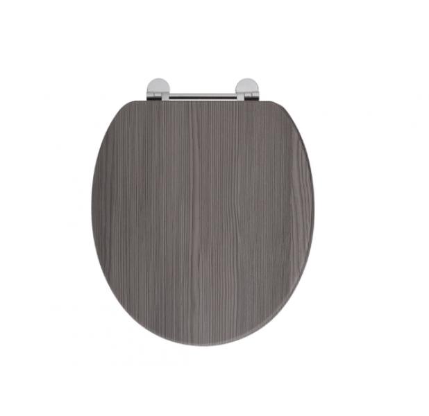 Phenomenal Holborn Wooden Soft Close Toilet Seat Avola Grey Spiritservingveterans Wood Chair Design Ideas Spiritservingveteransorg