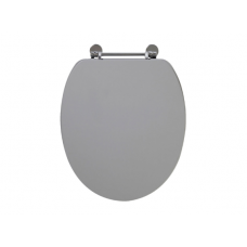 Holborn Wooden Soft-Close Toilet Seat - Dust Grey