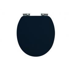 Holborn Wooden Soft-Close Toilet Seat - Matt Indigo