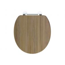 Holborn Wooden Soft-Close Toilet Seat - Mordern Oak
