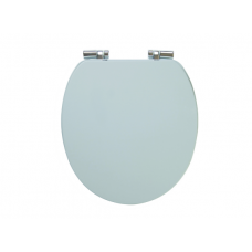 Holborn Wooden Soft-Close Toilet Seat - Pearl Grey