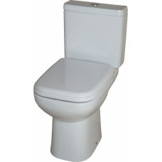 Origin Closed Coupled Toilet Including Soft Close seat