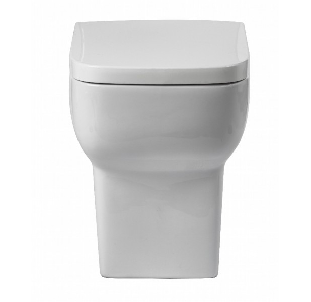 Bella Back To Wall Toilet including Soft Close Seat