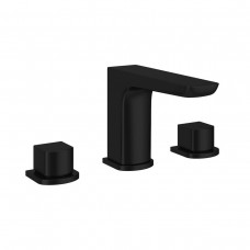 Matte Black 3 Hole Basin Mixer