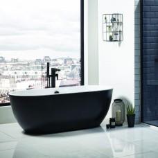 San Marlo Freestanding Bath - Matte Black